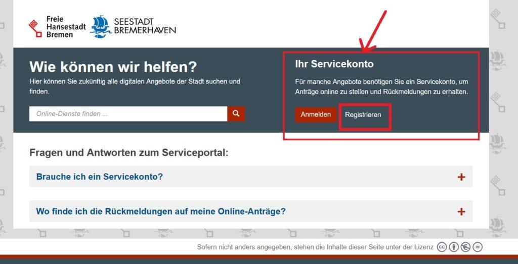 Onlinedienste Bremen